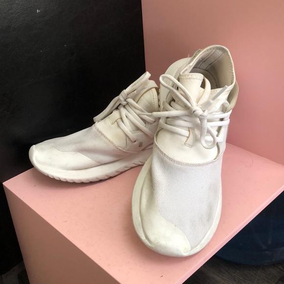 adidas Shoes - Adidas Tubulars white
